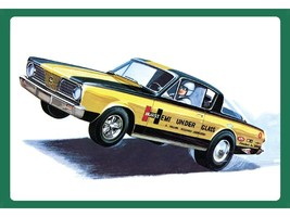 AMT 1:25 Scale 1966 Plymouth Barracuda - 1153 - $33.40