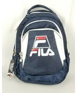 Fila Filatech Cruise Big Logo Backpack Red/White/Blue Laptop/Tablet Comp... - $39.59