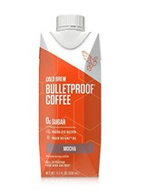 Bulletproof Mocha Cold Brew Coffee, Keto Diet Friendly, Sugar Free, non-GMO, org