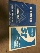 1983 GMC S TRUCK Service Shop Workshop Repair Manual Set W Parts Catalog... - $39.55