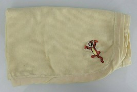 Disney Tigger Yellow Waffle Weave Thermal Baby Blanket Winnie The Pooh 3... - $34.64
