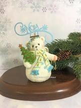 Cherished Teddies Ornament 2010 Noel Snowbear #4016873 NIB - $44.50