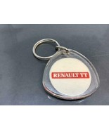 Vintage Car Dealership Promotional Keyring RENAULT TT Keychain Ancien Po... - $7.02