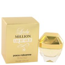 Lady Million Eau My Gold by Paco Rabanne Eau De Toilette Spray 1 oz for ... - $40.94