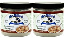 Mrs Millers Homestyle Ham Soup Base - 2 Jars / ... - $16.99