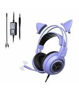 SOMIC G951S-purple gaming headphone game purple - $92.46
