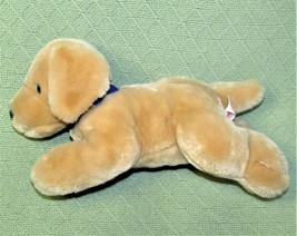 "12"" ANIMAL FAIR DOG PLUSH GOLDEN RETRIEVER LAB BLUE COLLAR 2006 PRINCESS... - $24.75"
