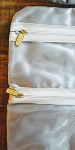 CHRISTIAN DIOR Jewel Roll Organizer Sac w/3 Zip Pockts Flat or Hang image 4