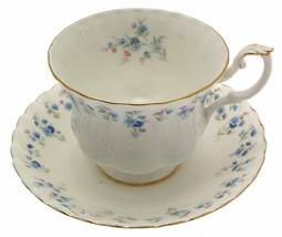 Royal Albert Memory Lane Teacup & Saucer 2nds Quality - $15.39