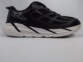 Hoka One One Clifton 2 Men's Running Shoes Size US 12.5 M (D) EU 47 1/3 Black