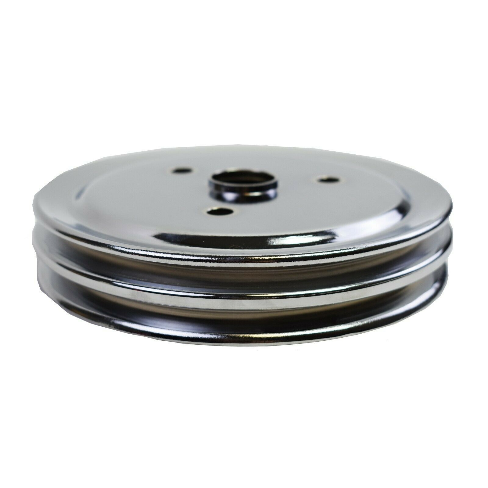 Crankshaft Pulley Double-Groove SWP Short Water Pump For Chevy SBC 262 327 350