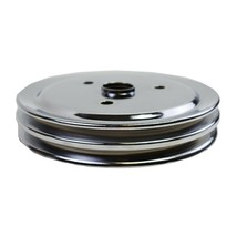Crankshaft Pulley Double-Groove SWP Short Water Pump For Chevy SBC 262 327 350 image 1