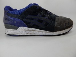 Asics Gel Lyte 3 Size US 13 M (D) EU 48 Men's Running Shoes Black Blue H521N