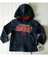 Cleveland Indians Hoodie Sweat Shirt Kids Toddler T-Shirt 2T, or 3T Todd... - $23.99