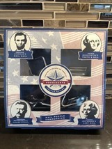 Master Thinkers Of America Presidents Puzzle Series Nail Puzzle Compendium - $19.78