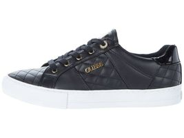 Women's GUESS Loven Quilted Lace-Up Casual Low Top Sneakers image 4