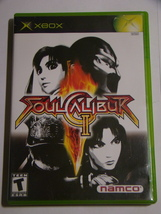 XBOX - SOUL CALIBUR II (Complete with Manual) - $8.00