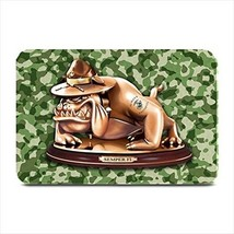 Devil Dog Semper Fi Army Mascot Plate Place Mat - $17.00
