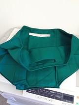 Longaberger Medium Oval Waste Basket Ivy Green Fabric Over Edge Liner New - $15.79