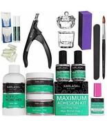 Karlash Professional Acrylic Nail Kit System STUDENT KITNo MMA Liquid Mo... - $77.47