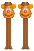PEZ Candy Dispensers: Disney Muppets Fozzie Bear Dispenser with Candy Refills (P - $11.87
