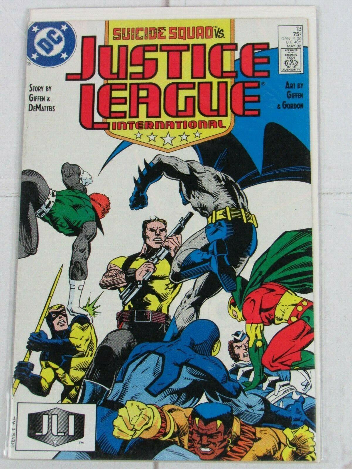 JUSTICE LEAGUE INTERNATIONAL #13 (MAY 1988) DC COMICS - C4986