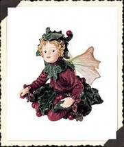 "Boyds Bears Wee Folkstone Faerie ""Holly Faerieberry.. Holiday Gathering"" #36014 - $29.99"