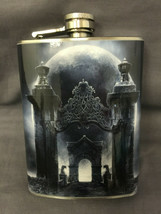 Gothic D4 Flask 8oz Stainless Steel Drinking Whiskey Clearance item - $9.90