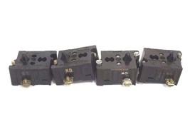 LOT OF 4 CUTLER HAMMER 10250T CONTACT BLOCKS 1 N.C.