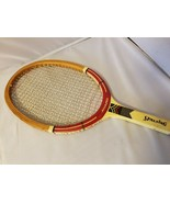 Spalding Award Vintage Tennis Racquet Racket Wood With Wooden Case - $44.05