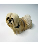 """2002 Living Stone 3"""" Lhasa Apso Dog Figurine No 52230 - Made of Resin -T... - $9.99"""