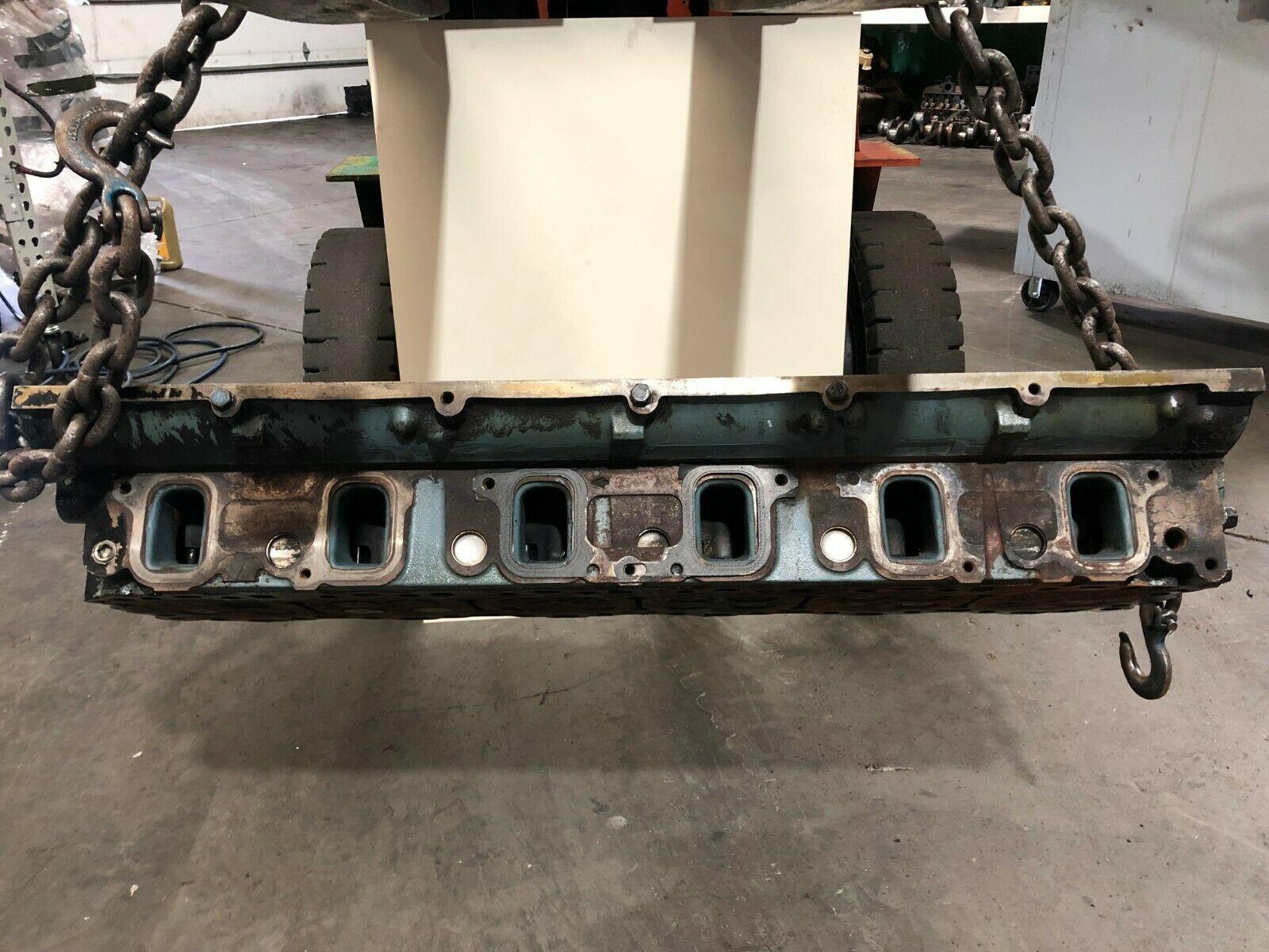 Detroit Series 60 14.0 Liter Diesel Engine Cylinder Head As Is OEM image 2