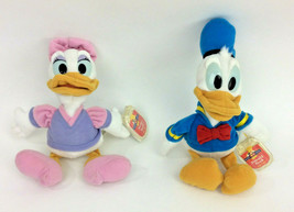 "DIsney Star Bean Donald Daisy Duck Beanbag 6"" Plush Stuffed Animal NEW - $23.21"