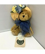 Boyds Bears Nanette Dubeary Floral Hat Plush Stuffed Animal 7″ - $24.99