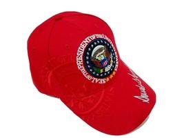 MAGA 45th President Donald Trump Seal Make America Great Again Hat Red - $14.35