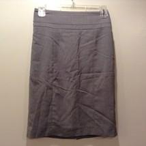 Ladies Light Grey Skirt by H&M Sz 4