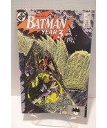 BATMAN YEAR 3 #439 DC COMIC BOOK 1989 [Paperbac... - $6.95