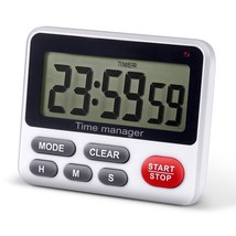 Digital Kitchen Countdown Timer - AIMILAR Count Up Down Cooking Timer Cl... - $13.69