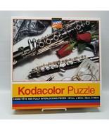 Rose Art Kodacolor Study of Music Premium 1000 Piece Puzzle #44444 1994 ... - $15.19