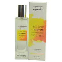 New Philosophy Expressive Eau De Parfum Spray 1 Oz For Women - $30.01