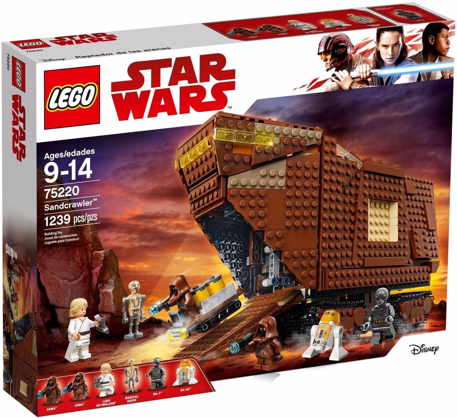 LEGO Star Wars 75220 Jawa Sandcrawler Building Set [NEW]