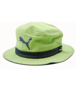 PUMA The Varial Lime Green Light Weight Bucket Style Cap Hat  L/XL - $18.99