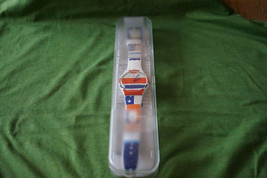 Swatch SUOW111 Flagtime Watch Battery, Box & Papers Excellent Working Condition  - $30.51