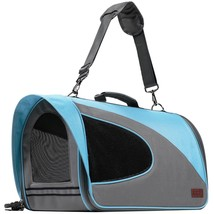 Travel Dog Carrier Folding Crate Airline Approved For Small Pet Cat Rabb... - $44.54