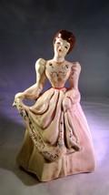 Antique 1952 Florence Ceramics Beth Figurine Flower Holder Vase - $140.00