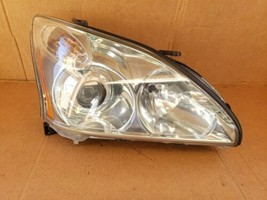 04-09 Lexus RX330 RX350 HID Xenon AFS Headlight Passenger Side RH POLISHED image 1