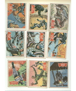 38 vintage TOPPS BATMAN gum cards RED BAT 1966 - $27.00