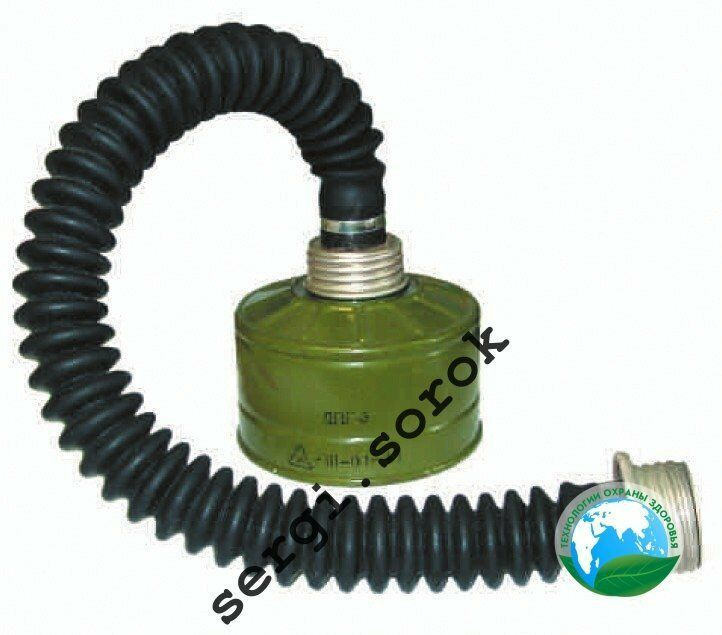 Primary image for Russian Military Gas Mask Tube Hose Connection 40mm with filter GP-5/GP-7/GP-9