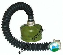 Russian Military Gas Mask Tube Hose Connection 40mm with filter GP-5/GP-... - $2.96