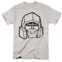 Transformers Megatron T-shirt retro 80s toys cartoon graphic printed grey tee image 2